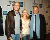Chevy Chase, Patricia Clarkson and Mike Medavoy at the premiere of