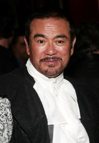 Sonny Chiba at the New York premiere of
