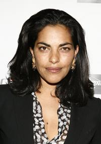 Sarita Choudhury at the 1st Annual Power of Film Gala Benefit FilmAid International.