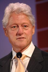 Bill Clinton at the Global Business Coalition Gala.