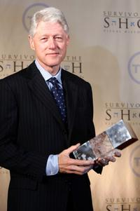 Bill Clinton at the 5th Annual Ambassadors for Humanity Dinner.