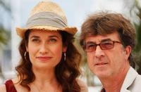 Emmanuelle Devos and Francois Cluzet at the photocall of