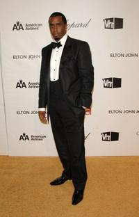 Sean Combs at the 16th Annual Elton John AIDS Foundation Academy Awards viewing party.