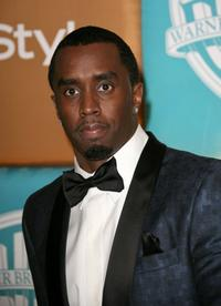 Sean Combs at the In Style Magazine and Warner Bros. Studios Golden Globe After Party.