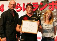 Graham McTavish, Sylvester Stallone and Julie Benz at the photocall of