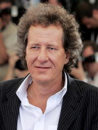 Geoffrey Rush at a photocall for