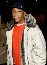 Russell Simmons at the Kenneth Coles 'R.S.V.P. to HELP