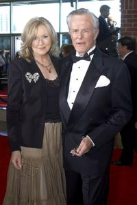 Robert Culp and his wife Candice at the 5th annual Starkey Foundation Gala.