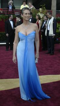 Jamie Lee Curtis at the 76th Academy Awards ceremony.