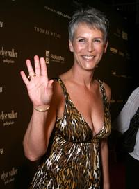 Jamie Lee Curtis at The Pink Party to benefit Cedars-Sinai Women's Cancer Research Institute.