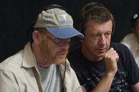 Director/Producer Ron Howard and Writer/Executive Producer Peter Morgan on the set of
