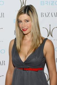 Mira Sorvino at the Brizo and Harpers Bazaar cocktail party.