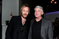 Rhys Ifans and John Lyons at the after party of the California premiere of