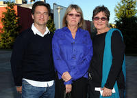 Tom Jacobson, Janet Hirshenson and Jane Jenkins at the Academy of Motion Picture Arts and Sciences' Oscars Outdoors California premiere of