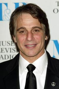 Tony Danza at the Museum of Television and Radio gala.