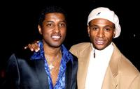Kenneth Edmonds and Tommy Davidson at the screening of