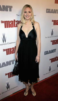 Hope Davis at the L.A. premiere of