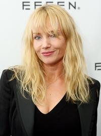 Rebecca De Mornay at the Jennifer Nicholson Spring 2007 fashion show.