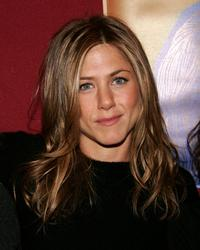 Jennifer Aniston and Laura Day at the party to celebrate