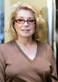 Catherine Deneuve at the press conference of