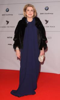 Catherine Deneuve at the 58th Berlinale International Film Festival.