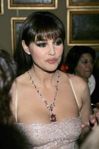 Monica Bellucci at the Cartier Spring Party in Rome.