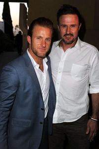 Scott Caan and David Arquette at the California premiere of