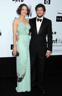 Marion Cotillard and Guillaume Canet at the amfAR Cinema Against AIDS 2009 benefit during the 62nd Annual Cannes Film Festival.