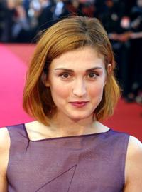 Julie Gayet at the world premiere of