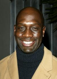 Richard T. Jones at the party to celebrate the 100th episode.