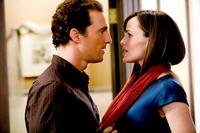 Matthew Mcconaughey as Connor Mead and Jennifer Garner as Jenny Perotti in
