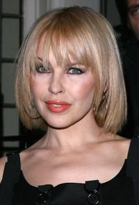 Kylie Minogue at the Finch and Partners Pre BAFTA Party.