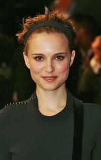 Natalie Portman at the London premiere of