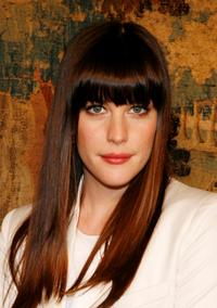 Liv Tyler at the fashion industry's battle against HIV/AIDs at the