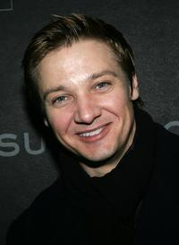 Jeremy Renner at the premiere of
