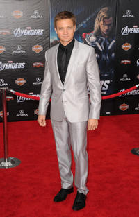 Jeremy Renner at the California premiere of