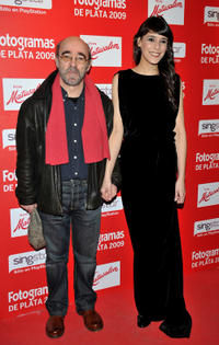 Alex Angulo and Guest at the Fotogramas Magazine Awards 2010 in Spain.