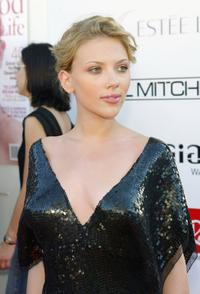 Scarlett Johansson at the 6th Annual Movieline Young Hollywood Awards.