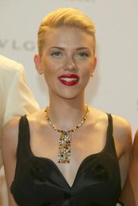 Scarlett Johansson at the 61st Venice Film Festival.