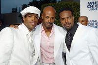 Marlon Wayans, Keenen Ivory Wayans and Shawn Wayans at the premiere of