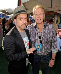 Lee Unkrich and Lee Majors at the after party of the premiere of