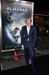 Michael Bay at the California premiere of