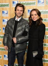 Eliza Dushku and her brother Nate Dushku at the Entertainment Weekly's Sundance Party held at the Legacy Lodge during the 2008 Sundance Film Festival.