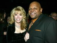 Charles S. Dutton and Jackie Kallen at the after-party for
