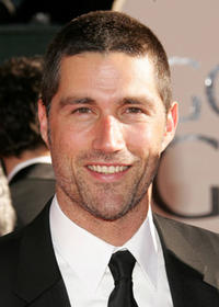 Matthew Fox at the 63rd Annual Golden Globe Awards in Beverly Hills.