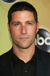 Matthew Fox at the ABC Television Network Upfront at Lincoln Center.
