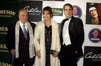 Fanny Ardant, Franco Zeffirell and Jeremy Irons at the Spanish premiere of their new movie