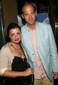 Anthony Edwards and his wife Jeanine Lobell at the New York film premiere of