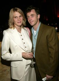 David Eigenberg and his wife Christy at the YouthAIDS Annual Benefit Gala 2003.