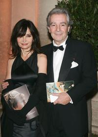 Pierre Arditi and Evelyne Bouix at the international evening of the child event.